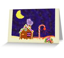 GingerBread Greeting Card