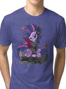 Twilight PonyROCK Tri-blend T-Shirt
