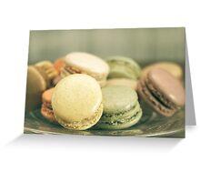 French Macaroon Greeting Card