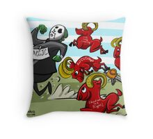 Rams Chasing the ACCJC! Throw Pillow