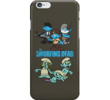 The Smurfing Dead iPhone Case/Skin
