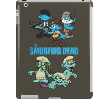 The Smurfing Dead iPad Case/Skin
