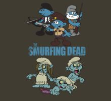 The Smurfing Dead by sausagechowder
