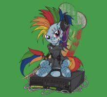 Rainbow PonyROCK Kids Tee