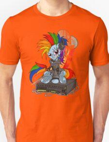 Rainbow PonyROCK Unisex T-Shirt