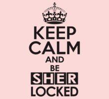 Sherlock - Keep Calm And Be SherLocked One Piece - Short Sleeve