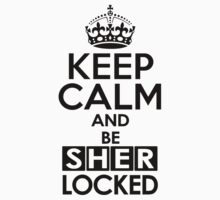 Sherlock - Keep Calm And Be SherLocked Kids Tee