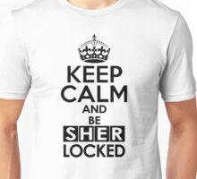 Sherlock - Keep Calm And Be SherLocked Unisex T-Shirt