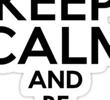 Sherlock - Keep Calm And Be SherLocked Sticker