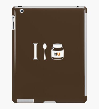 I Love Nutella iPad Case/Skin