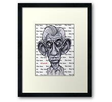 Sir Ian Framed Print