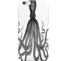 Majestic Retro Octopus iPhone Case/Skin