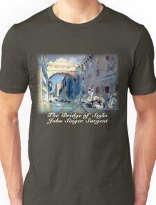 John Singer Sargent – The Bridge of Sighs Unisex T-Shirt