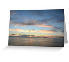 Pastel Double Landscape Greeting Card