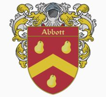 Abbott Coat of Arms/Family Crest by William Martin