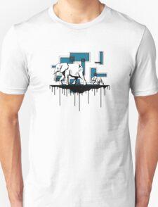 Elephant Walk (Blue) T-Shirt