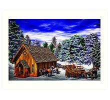 Christmas Then Art Print
