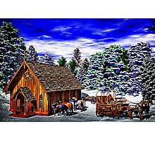Christmas Then Photographic Print