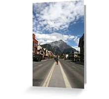 Banff III Greeting Card