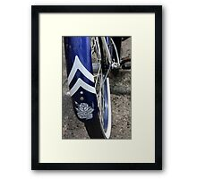 Banff Bike Framed Print