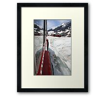 Icefields Bus Framed Print