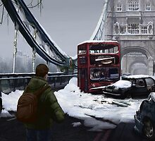 London Apocalypse: Tower Bridge by Andrea D'Ambrosio