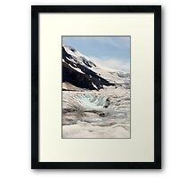 Glacier Blue Framed Print