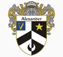 Alexander Coat of Arms/Family Crest by William Martin