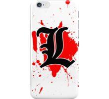 L iPhone Case/Skin