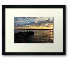 Lake Washington Framed Print