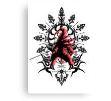 Blazblue: Hakumen Canvas Print