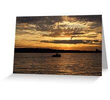 Lake Washington Greeting Card
