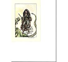 Tamaris vs the Dragon Photographic Print