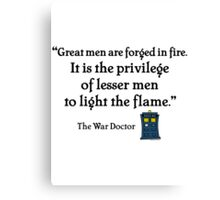 Light the Flame Canvas Print