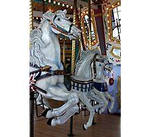 Edmonton Carousel Photographic Print