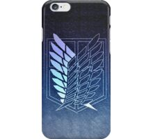 【3000+ views】Attack on Titan: Scouting Legion Jiyu no Tsubasa II iPhone Case/Skin