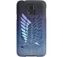 【3000+ views】Attack on Titan: Scouting Legion Jiyu no Tsubasa II Samsung Galaxy Case/Skin