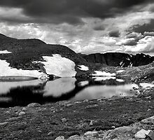 Summit Lake Study 4 BW by Robert Meyers-Lussier