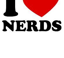 I Heart Nerds by kwg2200