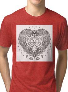 Lovely Heart Tri-blend T-Shirt