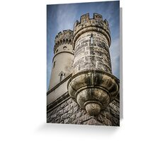 medieval bastion Greeting Card