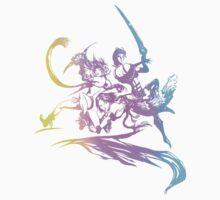 Final Fantasy X-2 in Color by everlander