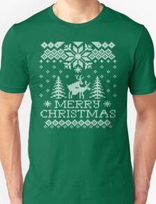 Ugly Sweater - Reindeer Humping Unisex T-Shirt