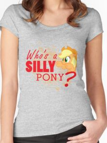 A Silly Pony Women's Fitted Scoop T-Shirt