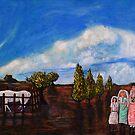 Three Bush Brides by ltruskett