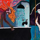 Bird And Bath by ltruskett