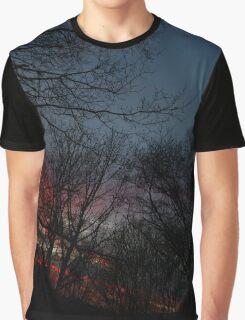 December Sunset (1670) Graphic T-Shirt