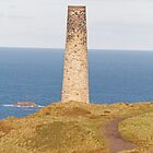 Cornish Tin mine by Keith Larby