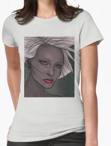 In Review Womens Fitted T-Shirt