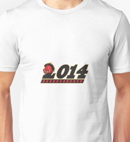 Year of Horse 2014  Unisex T-Shirt